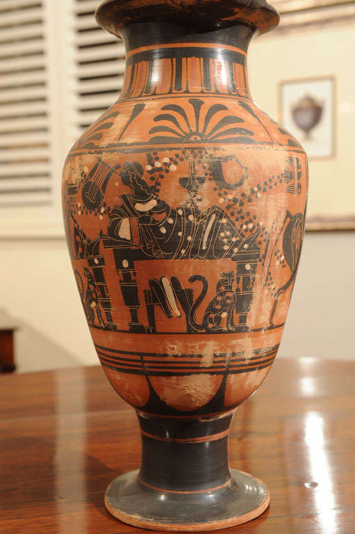 Late 19th Century Terracotta Grand Tour Pottery Vessel 7