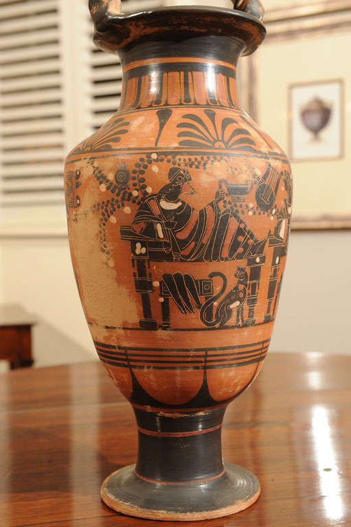 Late 19th Century Terracotta Grand Tour Pottery Vessel 8