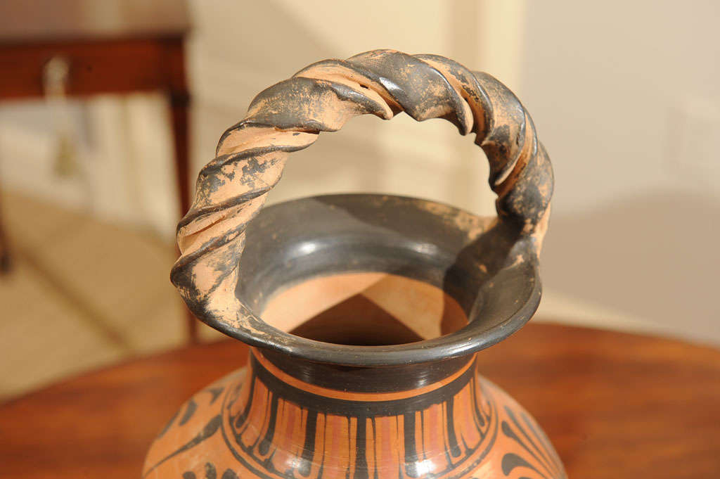 Late 19th Century Terracotta Grand Tour Pottery Vessel 9