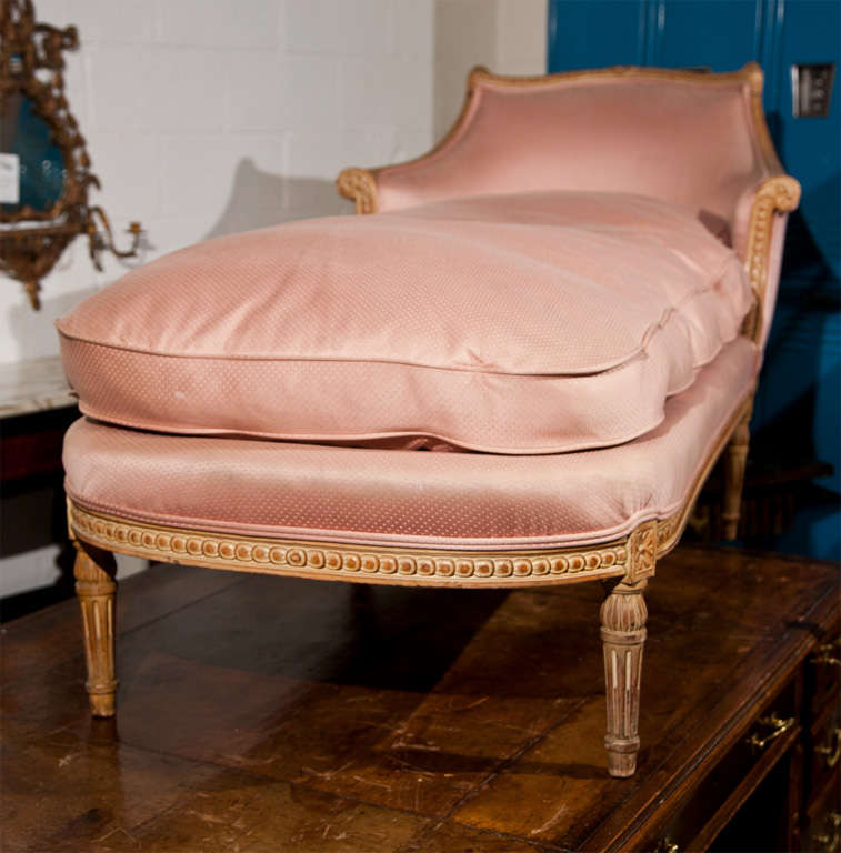 Maison jansen chaise lounge at 1stdibs for 1930s chaise lounge