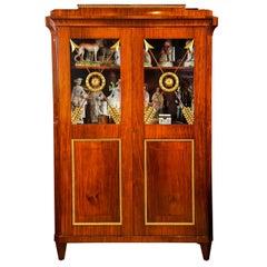 Russian Mahogany Bookcase