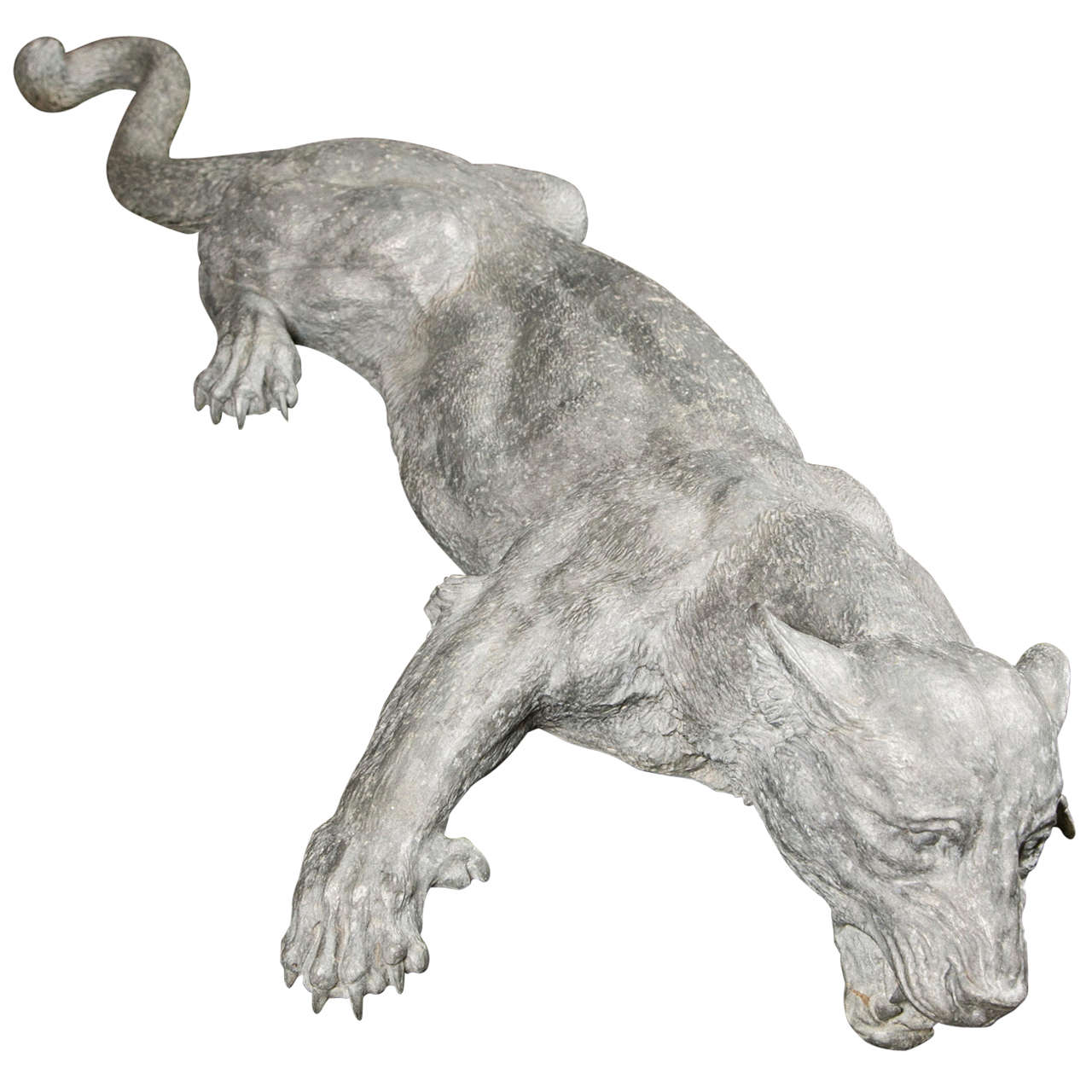 Lioness sculpture at stdibs