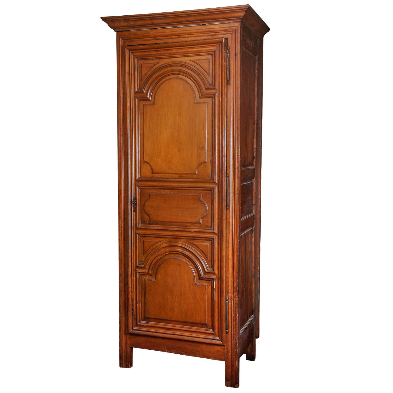 antique french bonnetiere armoire cabinet at 1stdibs. Black Bedroom Furniture Sets. Home Design Ideas