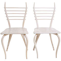 Garouste & Bonetti Pair of Chairs