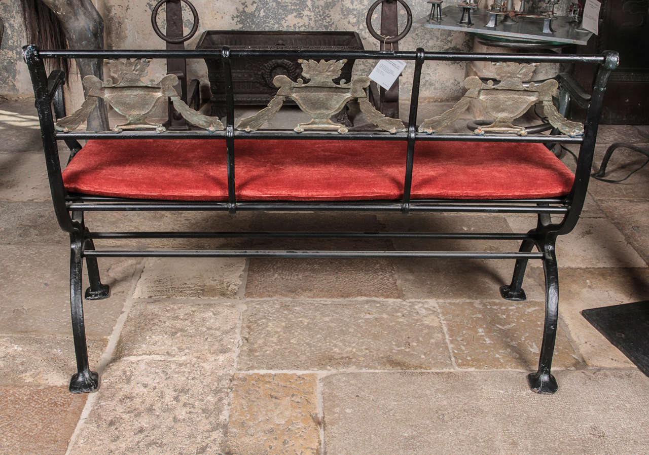 Set Of Cast Iron And Bronze Garden Furniture For Sale At: cast iron garden furniture