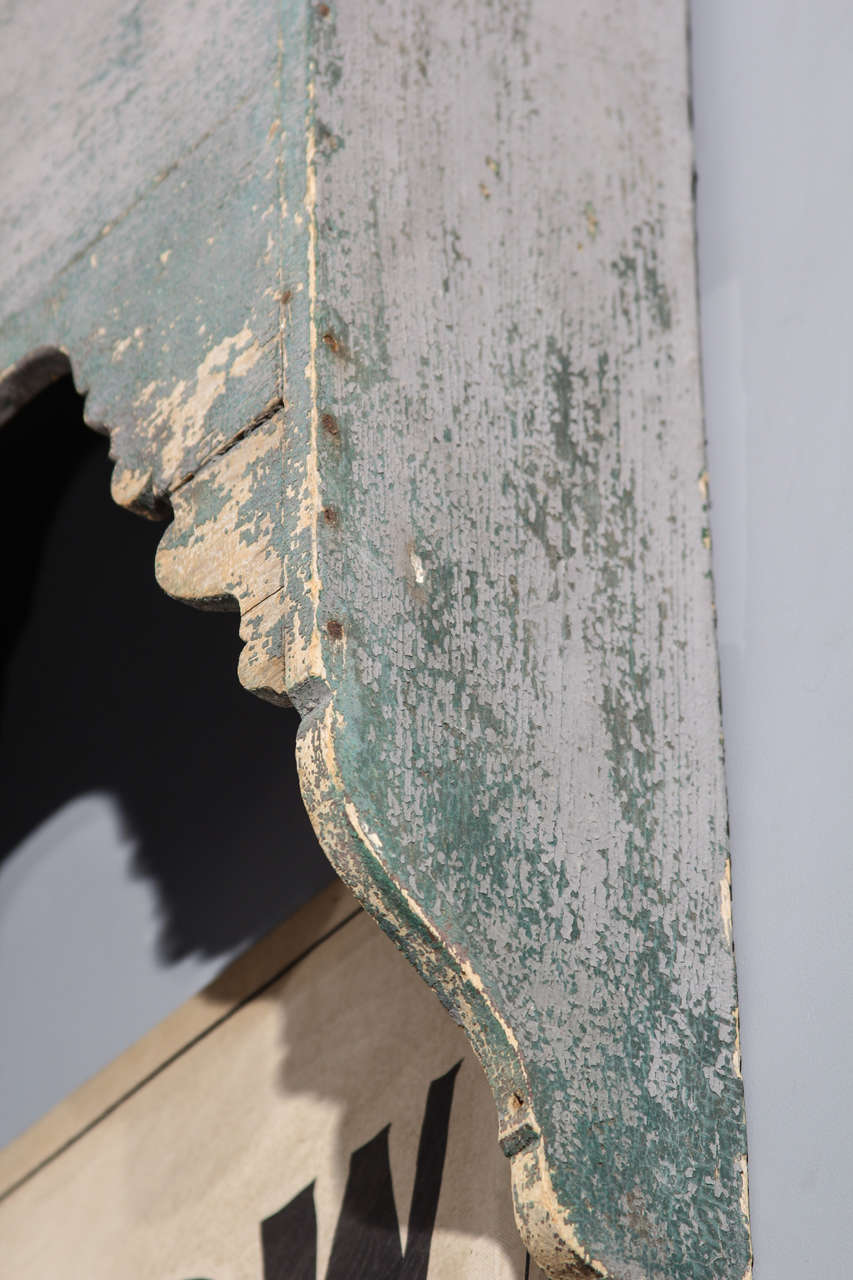 19th Century French Cornice For Sale