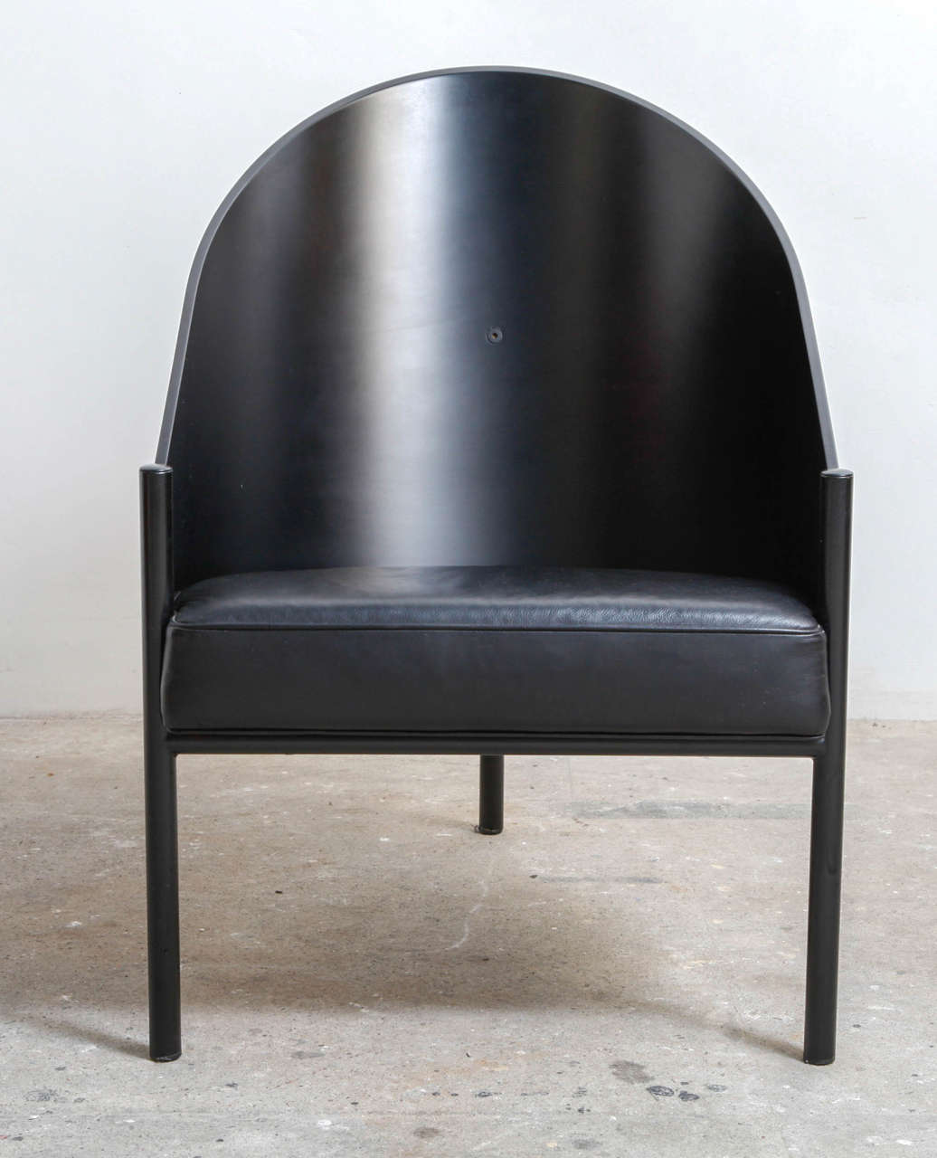Philippe Starck Pratfall Easy Chair By Aleph Ubik At 1stdibs