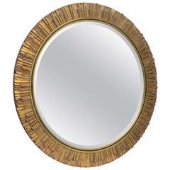 Gilt Wood Sunburst Mirror Italy