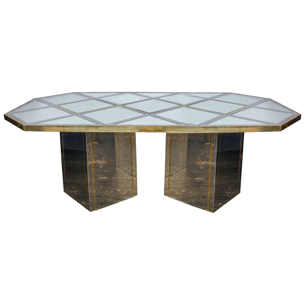 1960s italian unusual large dining table for sale at 1stdibs for Unusual dining tables for sale