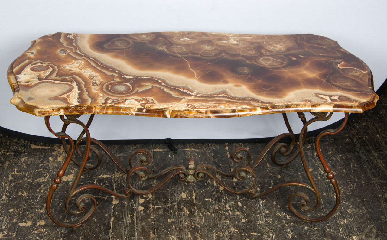 Italian Coffee Table 1940s Italian Coffee Table In Style Of Neo Baroque At 1stdibs