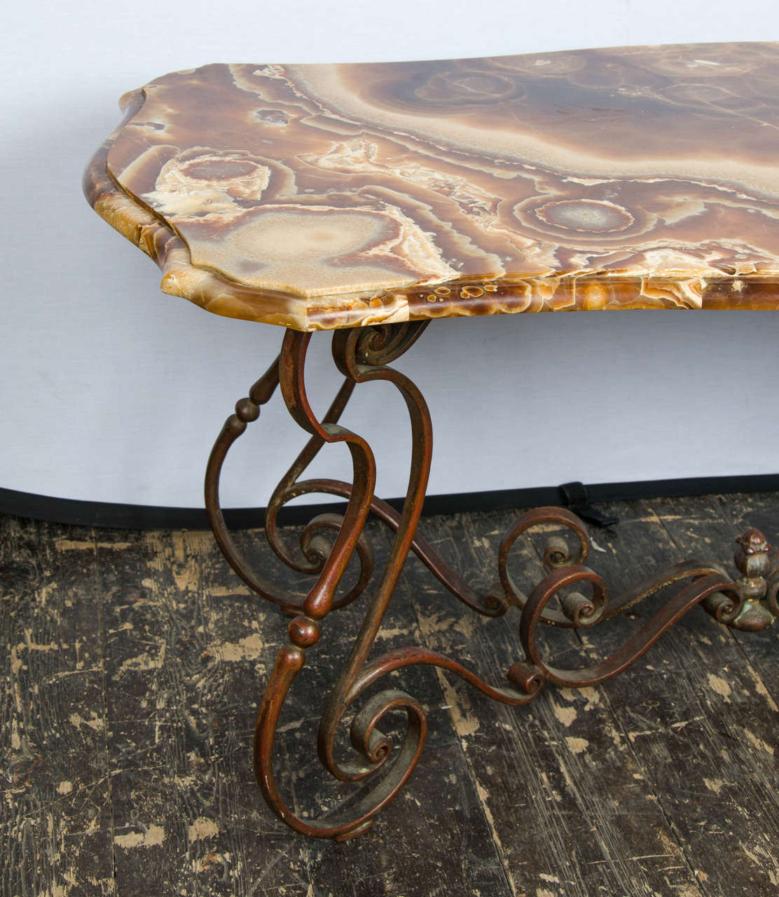 1940s Italian Coffee Table In Style Of Neo Baroque At 1stdibs