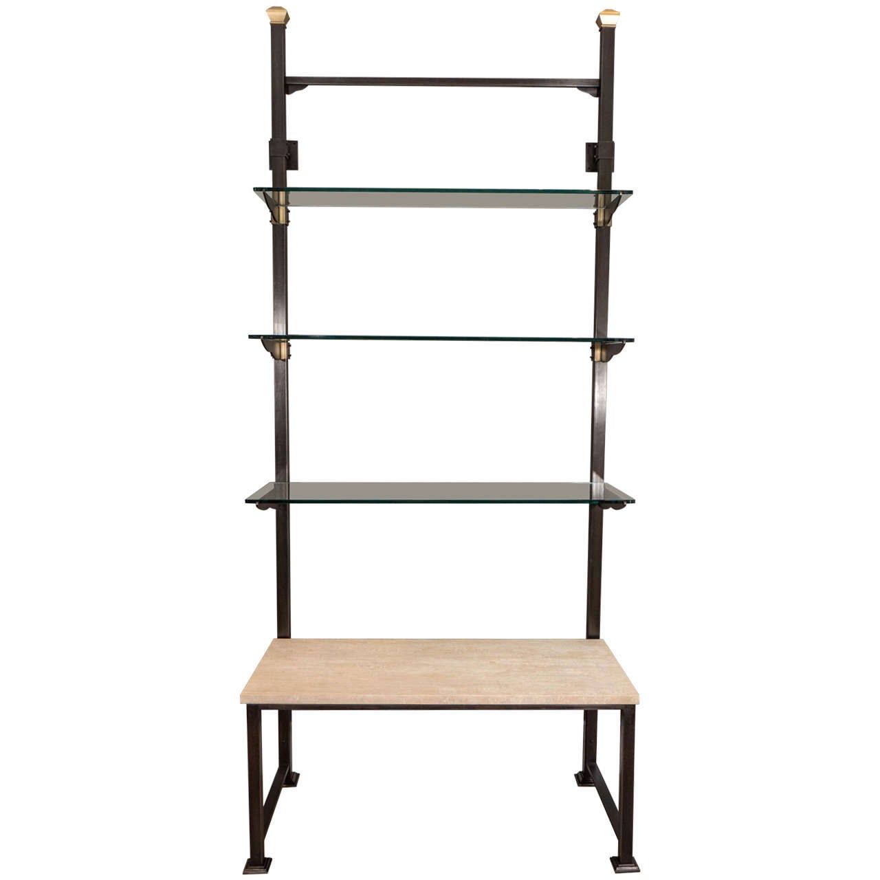 Viennese secessionist wall mounted shelving system at 1stdibs Wall mounted shelf systems