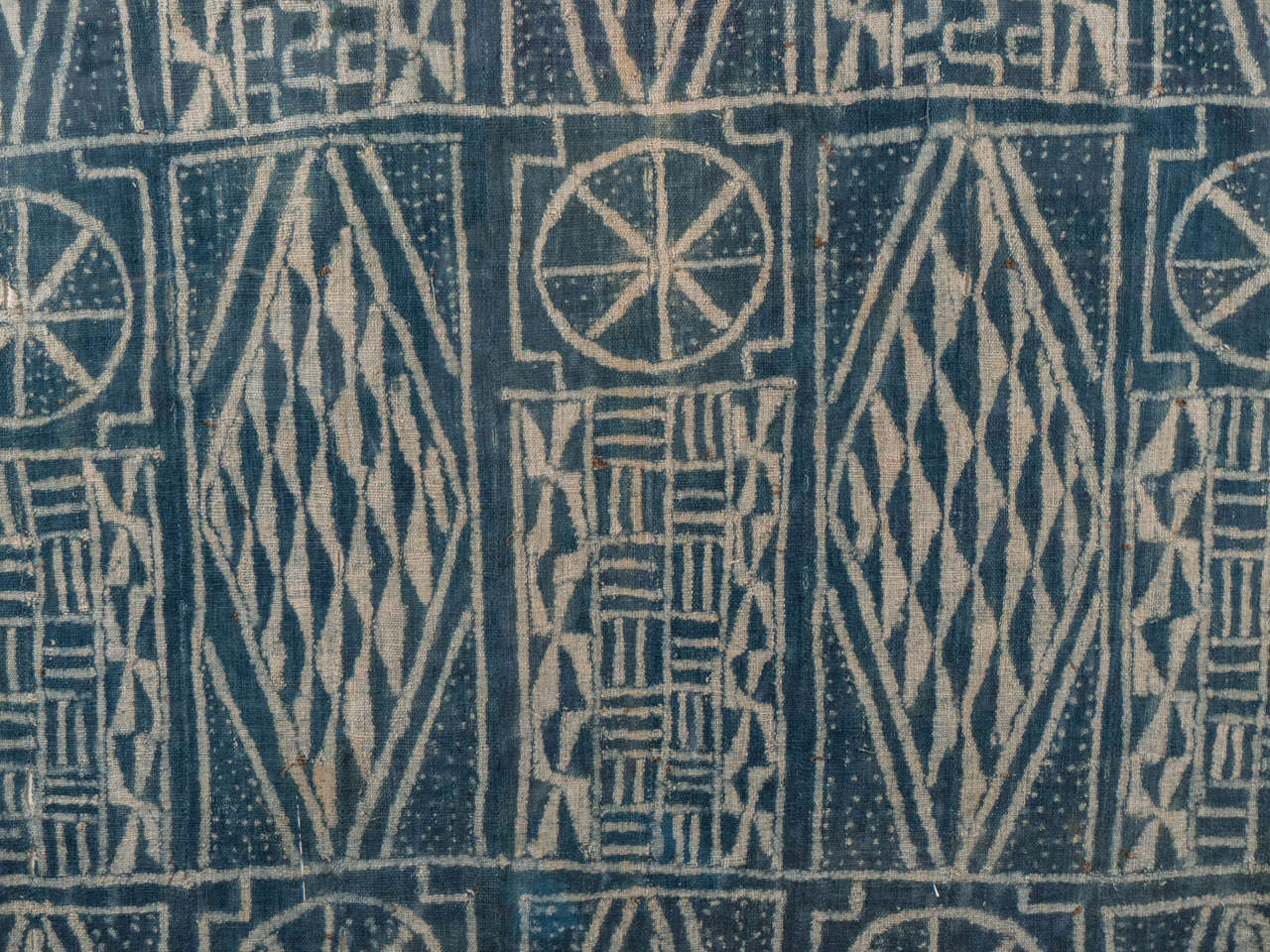 20th Century African Cameroon Ceremonial Chiefs Cloth