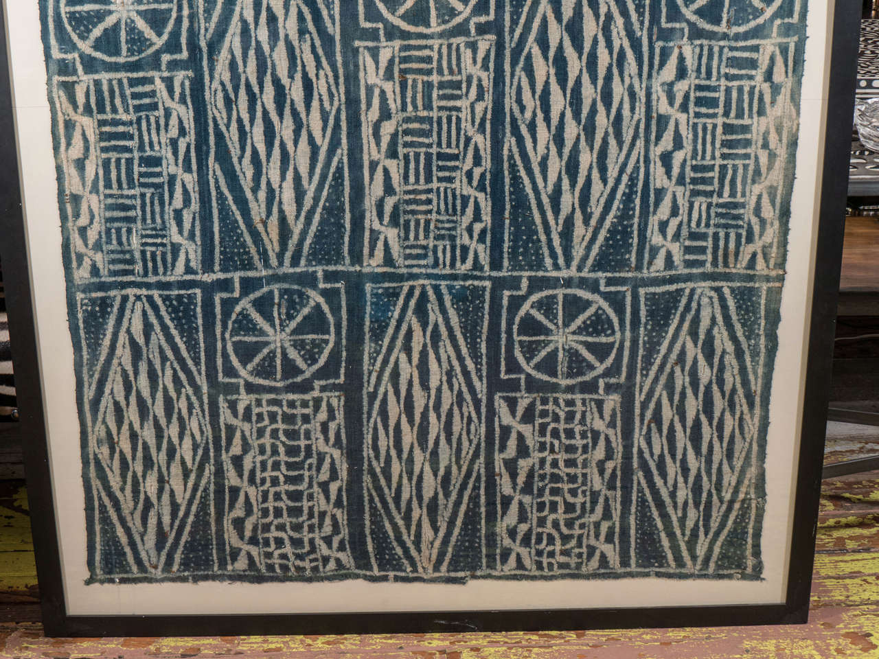 African Cameroon Ceremonial Chiefs Cloth 1