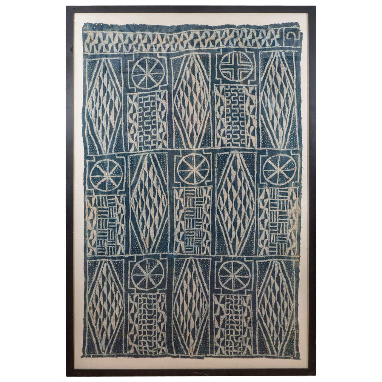 African Cameroon Ceremonial Chiefs Cloth