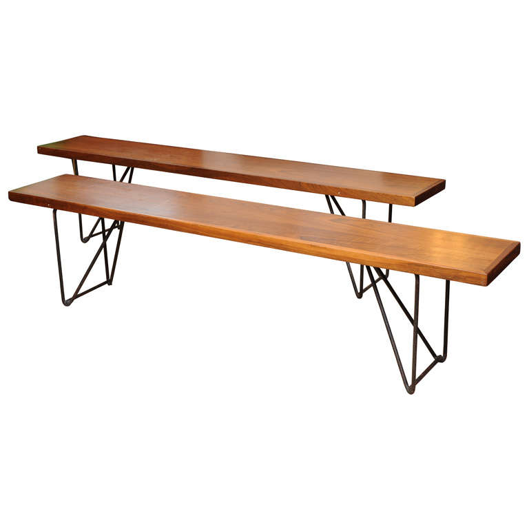 Luther Conover Benches at 1stdibs