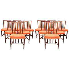 Set of 12 Dining Chairs,  Kaare Klint-style