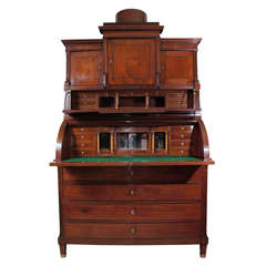 Danish Biedermeier Secretary