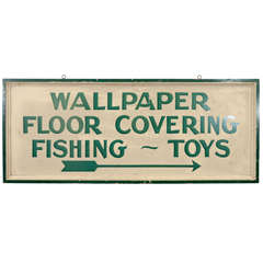 USA Wallpaper - Floor Covering - Fishing - Toys Sign