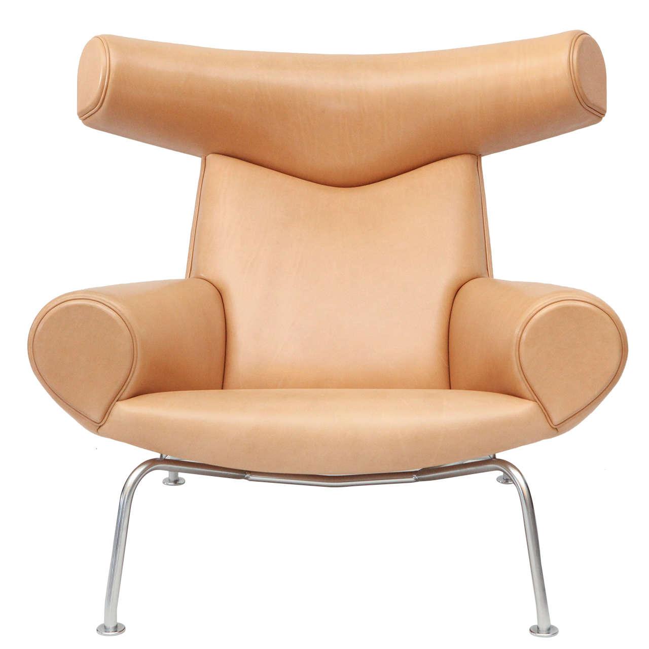 hans wegner ox chair at 1stdibs. Black Bedroom Furniture Sets. Home Design Ideas