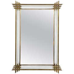 Elegant Vintage Murano Mirror by Barovier