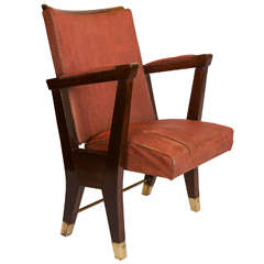 1950's Gio Ponti Theater Armchair