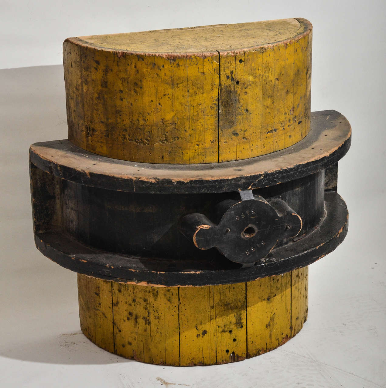 Large Wooden Industrial Mold At 1stdibs