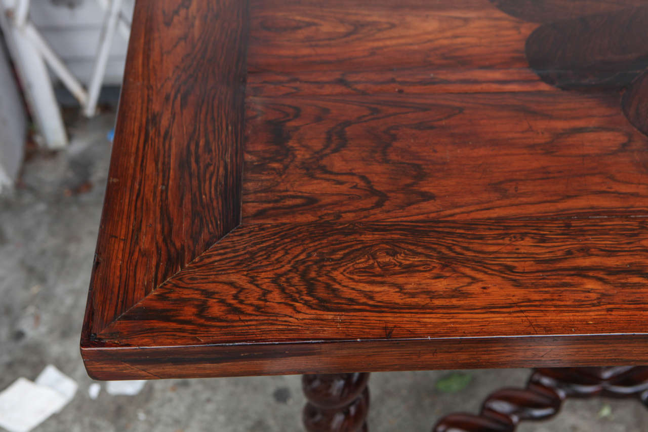 18th Century Portuguese Rosewood Table For Sale 2