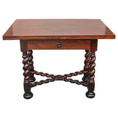 18th Century Portuguese Rosewood Table
