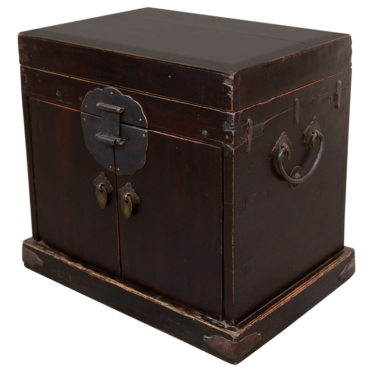 Antique Jewelry Box with Drawers For Sale at 1stdibs