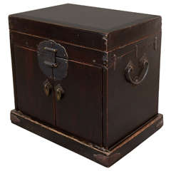 Antique Jewelry Box with Drawers