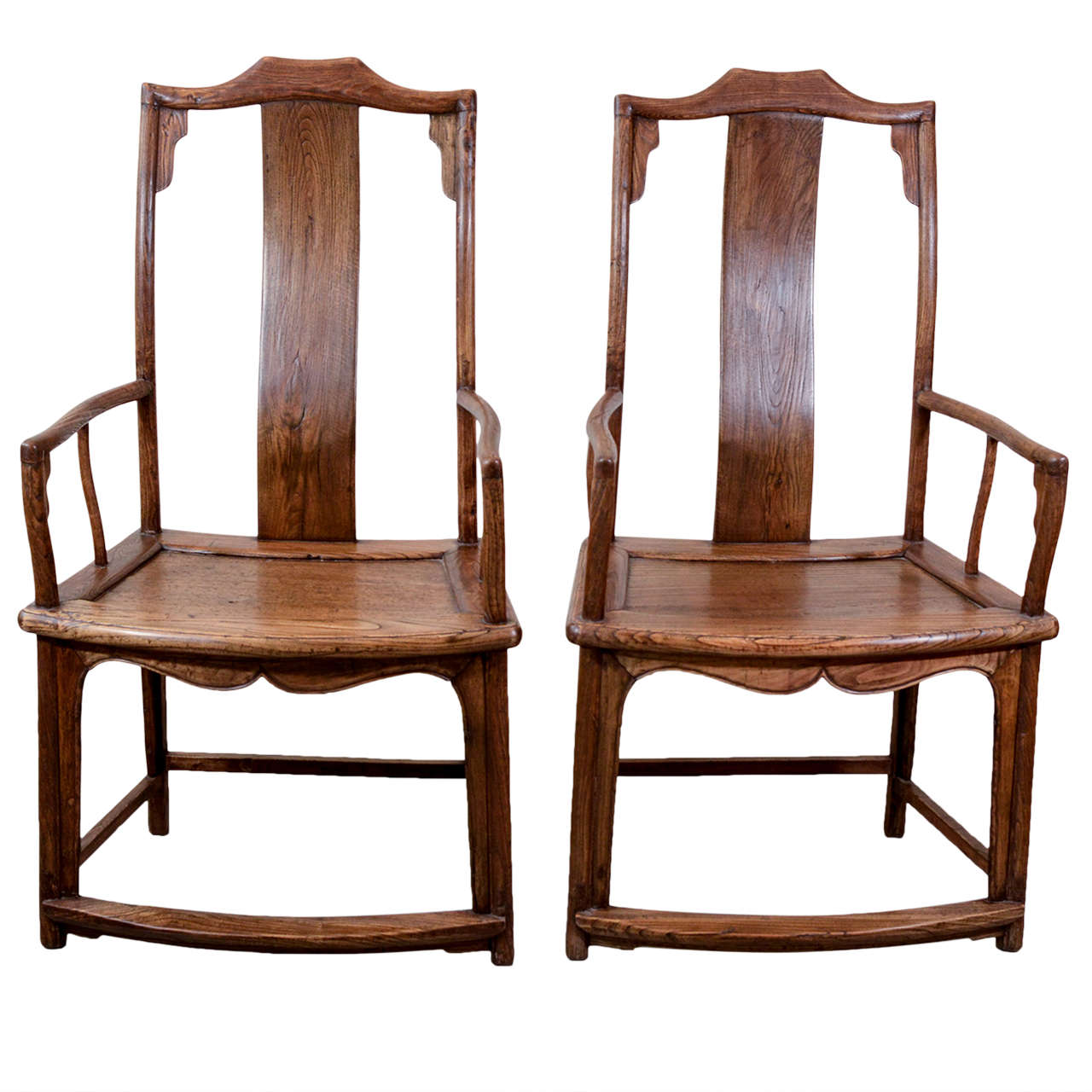 Antique chinese officials chairs at 1stdibs for Asian chairs for sale