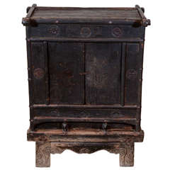 18th Century Chinese Kang Table Cabinet