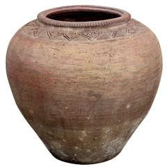Vintage Thai Water Vessel