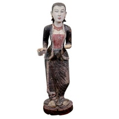 Early 20th Century Burmese Carving