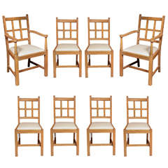 Set of (8) Chairs