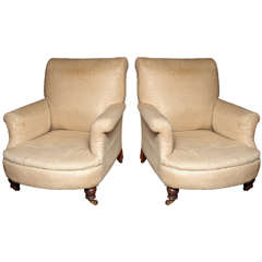 Pair of 19th Century Upholstered Chairs
