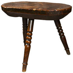 Antique 18th Century English Cricket Table