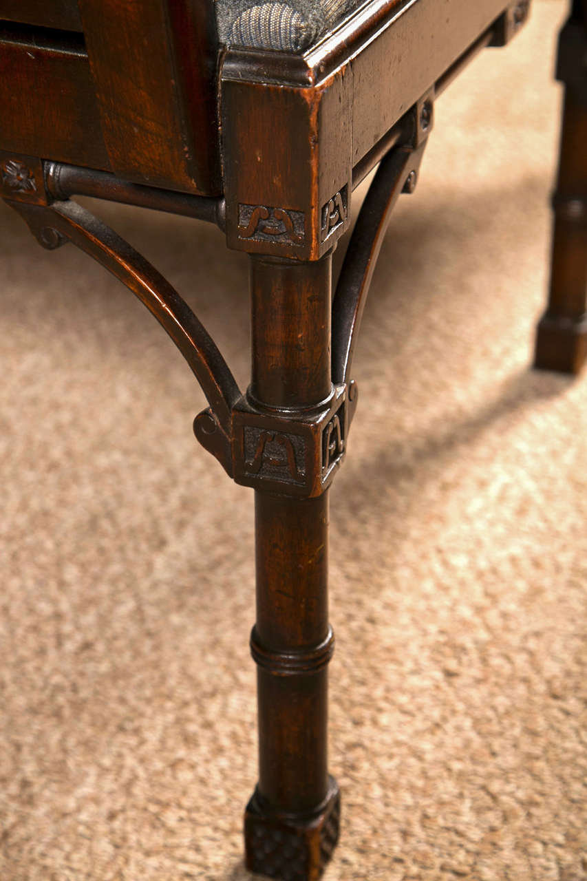 Antique Chinese Chippendale Settee - Canape For Sale 3