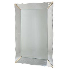 Monumental Venetian Wall Mirror
