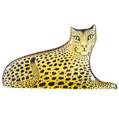 Lucite Leopard Designed by Abraham Palatnik