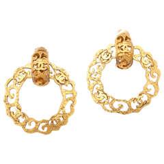 """Chanel """"Victoire De Crestela"""" Bangle and Earrings"""