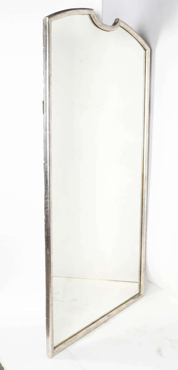 20th century full length framed mirror for sale at 1stdibs for Full length mirror with mirror frame