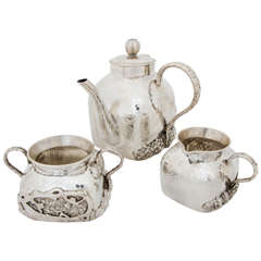 Chinese Silver Teaset
