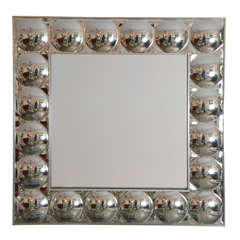 Plexi-Bubble Framed Mirror