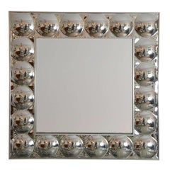 Plexi-Bubble Framed Mirror