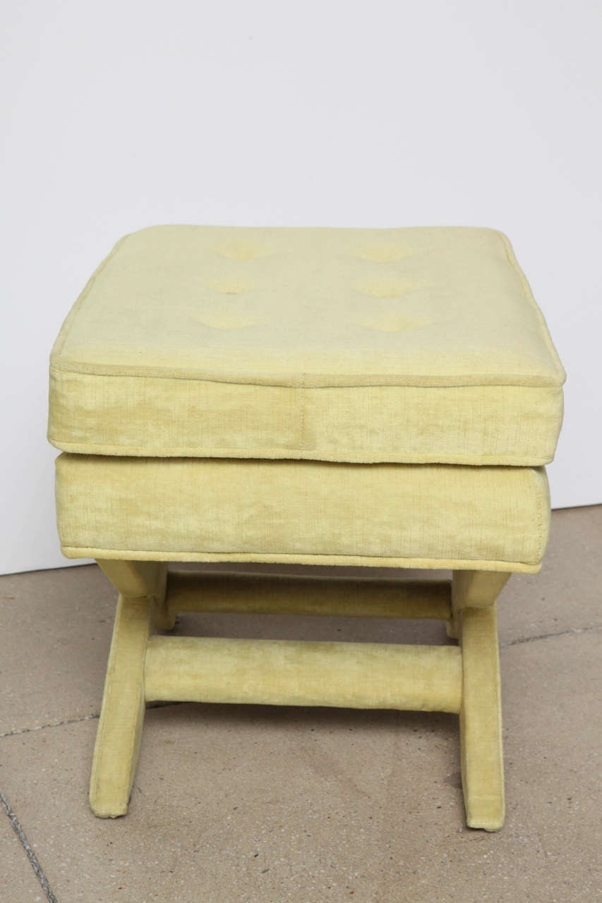 Billy Baldwin X Base Ottoman In Com For Sale At 1stdibs