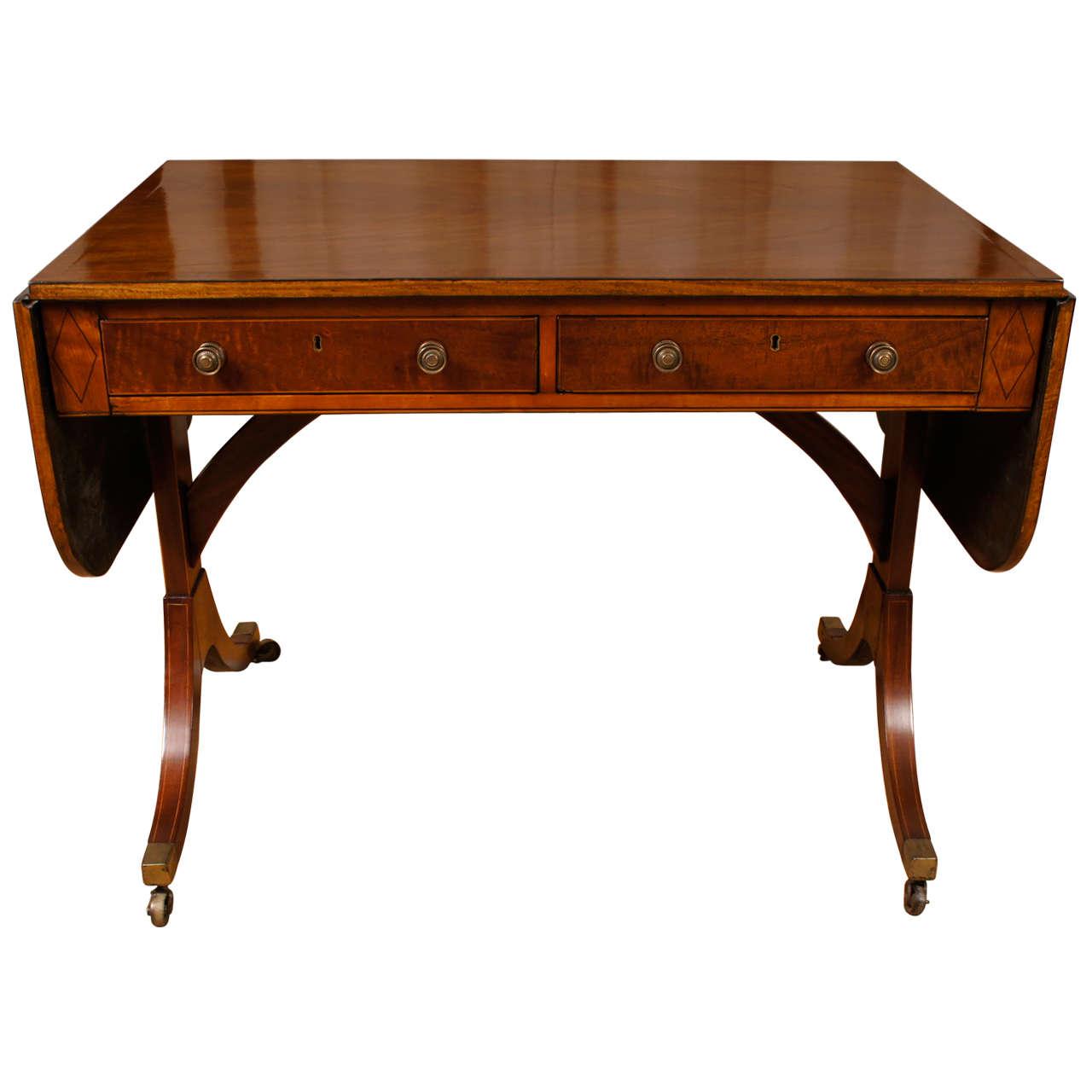 English George Iii Style Sofa Table At 1stdibs