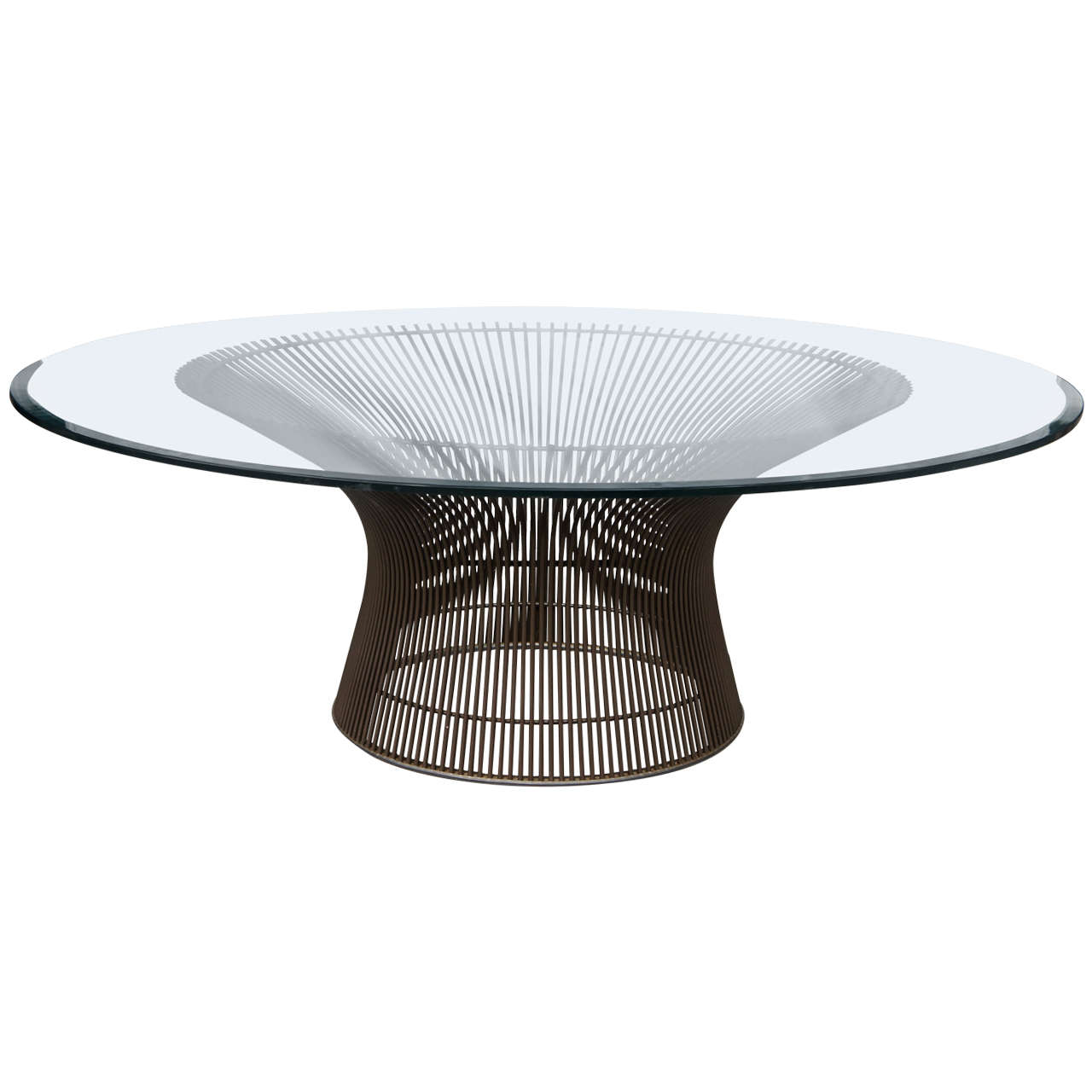 Platner coffee table for Warren platner coffee table
