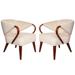 Pair of Streamline Tub Chairs